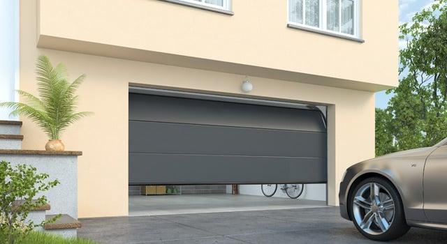 Porte de garage les types d ouverture les plus fr quents marseille for Porte garage electrique